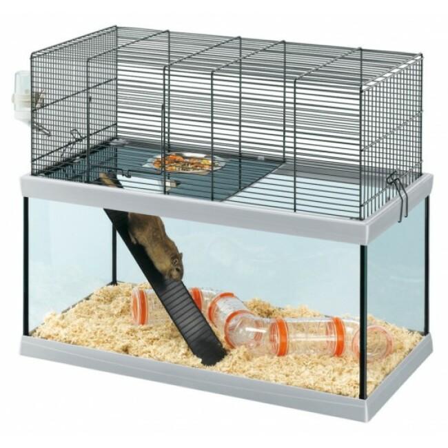 Cage pour gerbilles Gabry 60 en verre