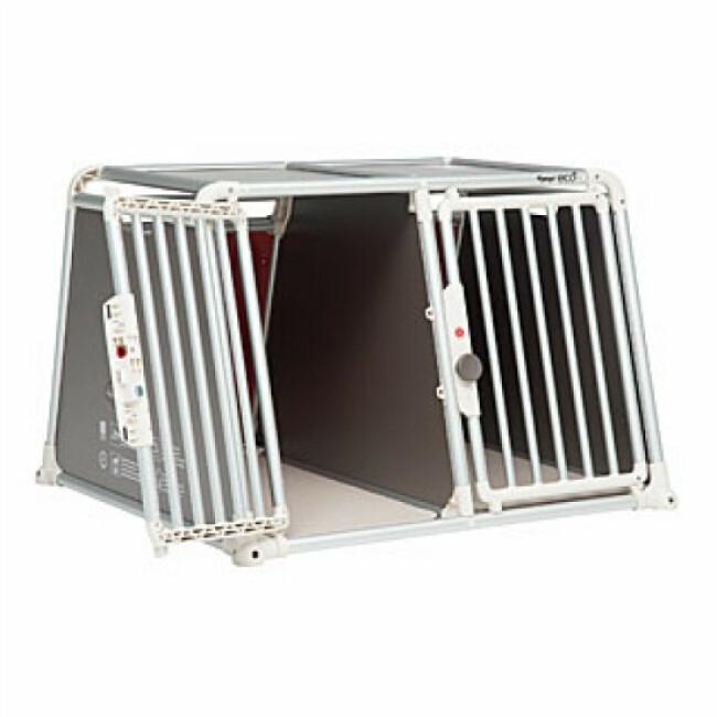 Caisse de transport pour deux chiens de moyennes à grandes races 4Pets 22