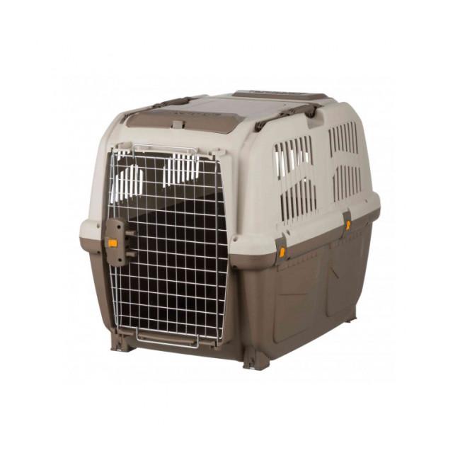 Caisse de transport en plastique Normes IATA Skudo pour chien et chat
