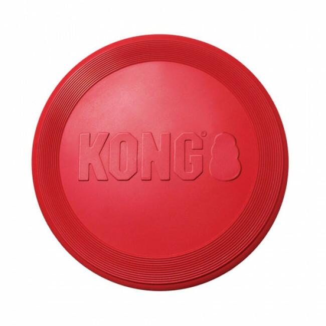 Canifrisbee en caoutchouc pour chien KONG Flyer