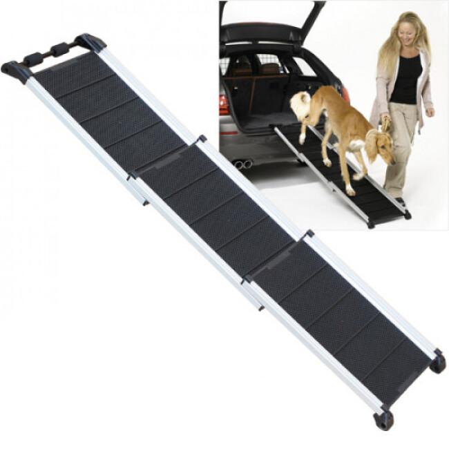 Canis-Rampe™ DW3 en aluminium/plastique pour chien handicapé ou obèse