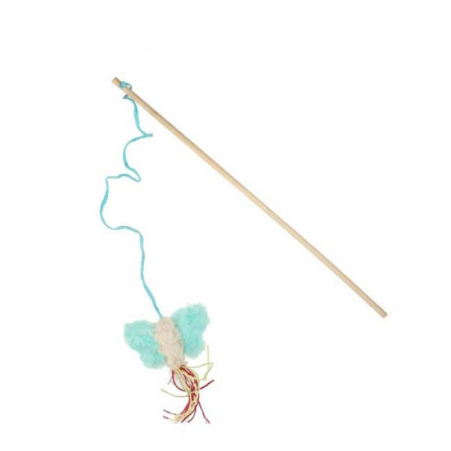 Canne à pêche Bubimex avec Papillon pour chat