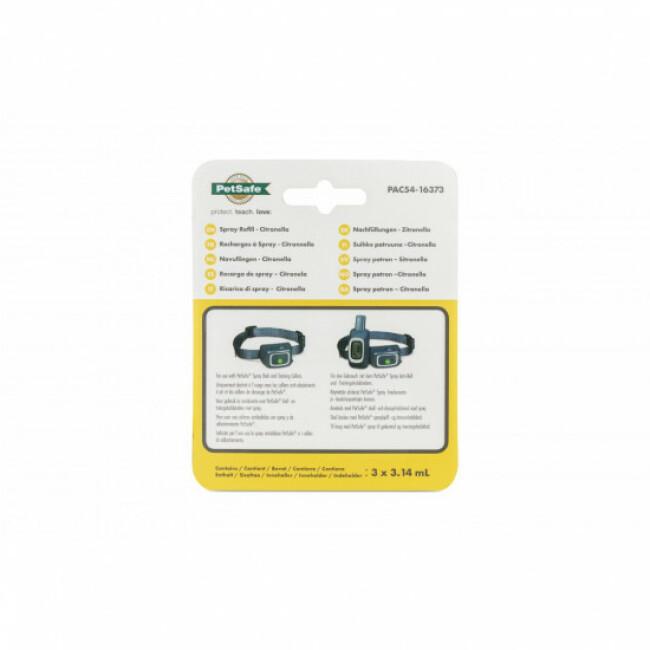 Cartouches de recharge pour collier à spray Petsafe