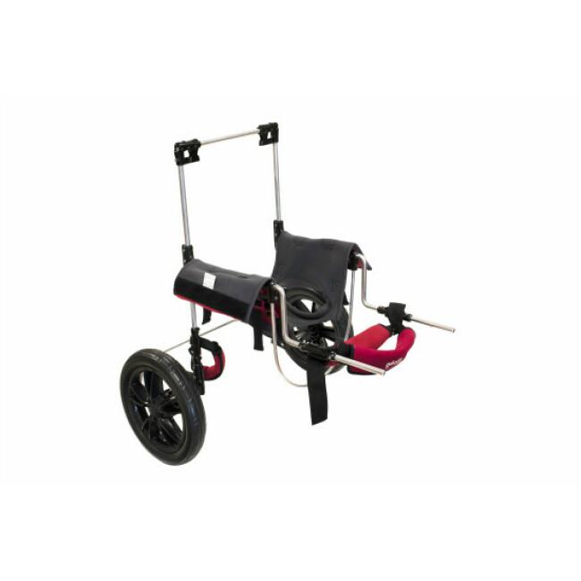 Chariot avec harnais portage postérieur pour chien et chat handicapés CANIS-MOBILE