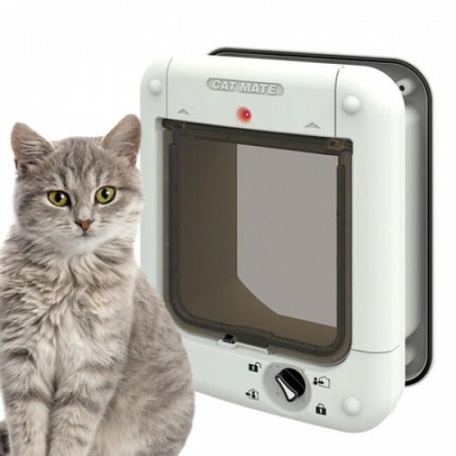 Chatière électronique à micro-puce Cat Mate pour chat