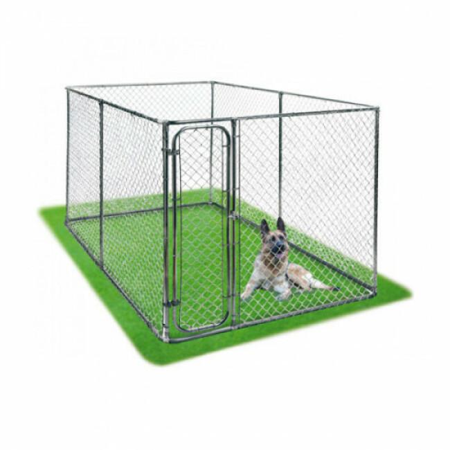Chenil grillagé Tempodog 9 m² pour chien