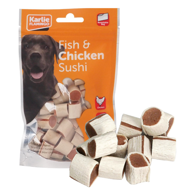 Chick'n Snack Sushi friandises pour chien
