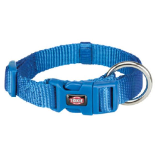 Collier en nylon bleu Premium Trixie