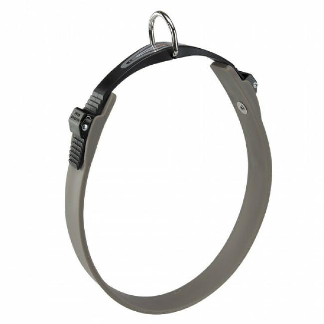 Collier gris pour chien à micro-régulation Ergoflex C