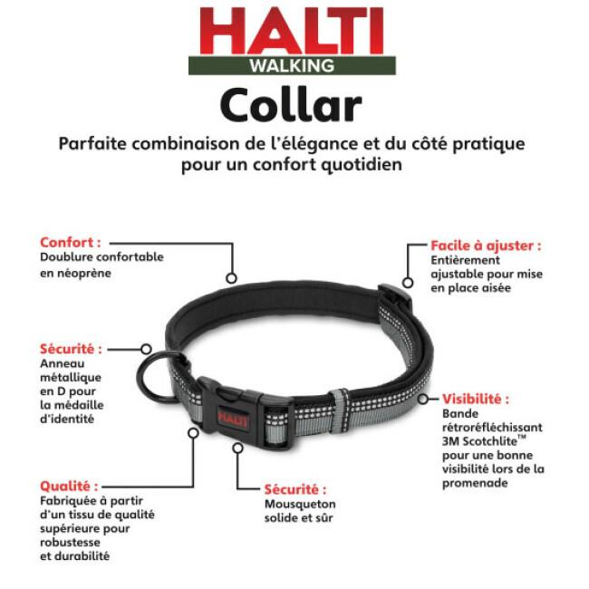Collier Halti en sangle nylon pour chien
