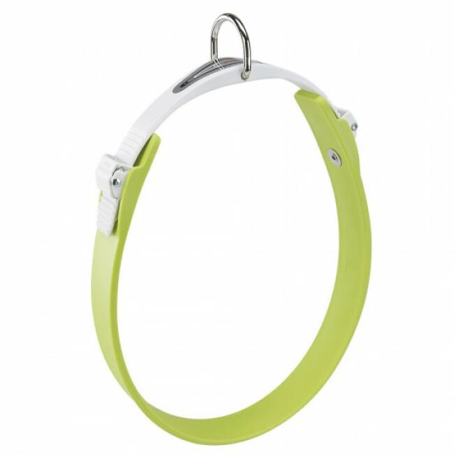 Collier vert pour chien à micro-régulation Ergoflex C
