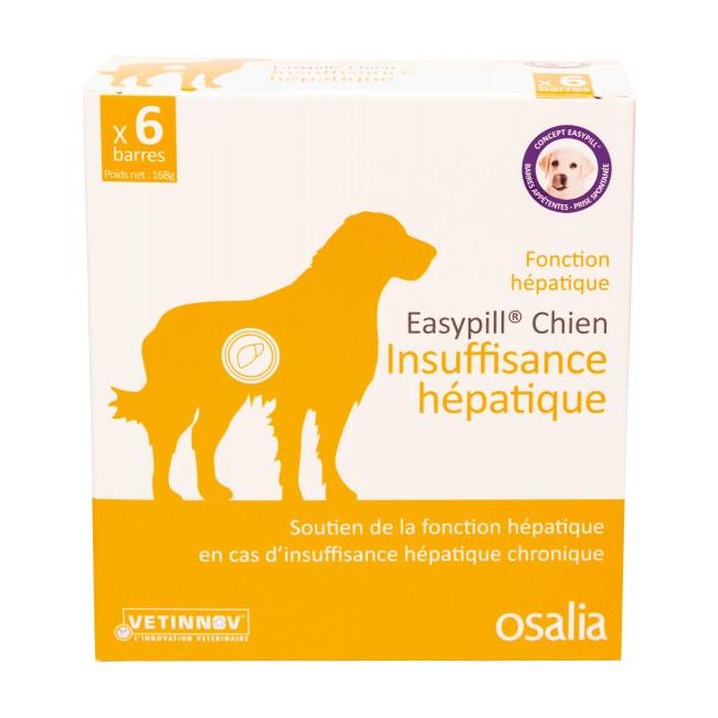 Complément alimentaire pour chien Easypill insuffisance hépatique