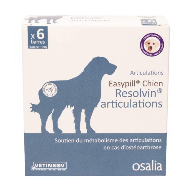 Complément alimentaire pour chien Easypill Resolvin articulations