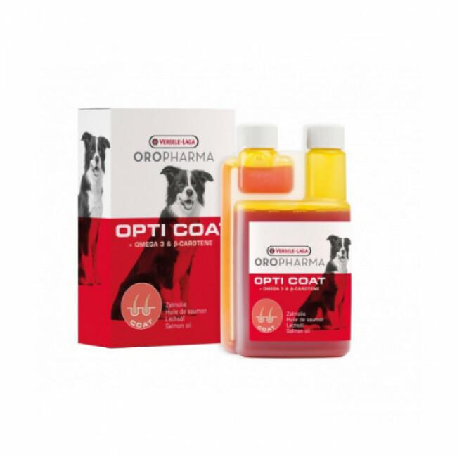 Complément alimentaire pour chien soins de la peau Oropharma Opti Coat