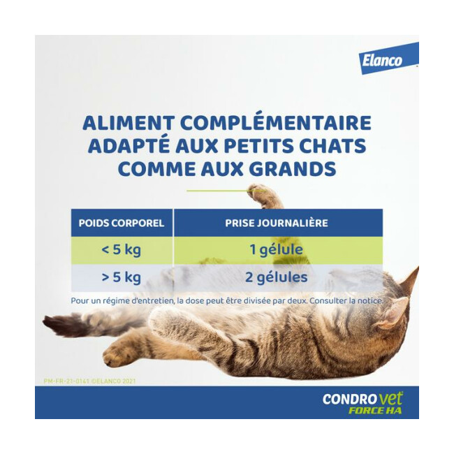 Complément alimentaire CONDROVET pour chat