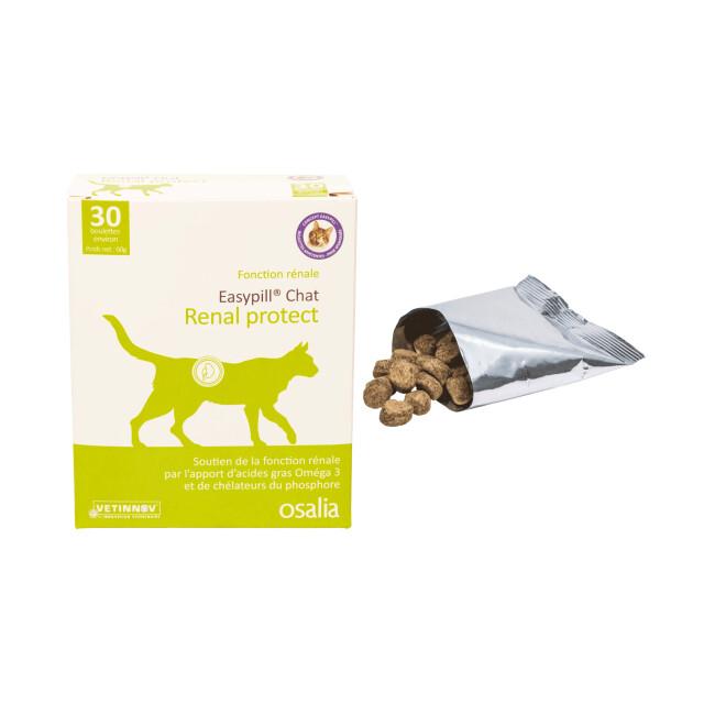 Complément alimentaire pour chat Easypill Protect insuffisance rénale