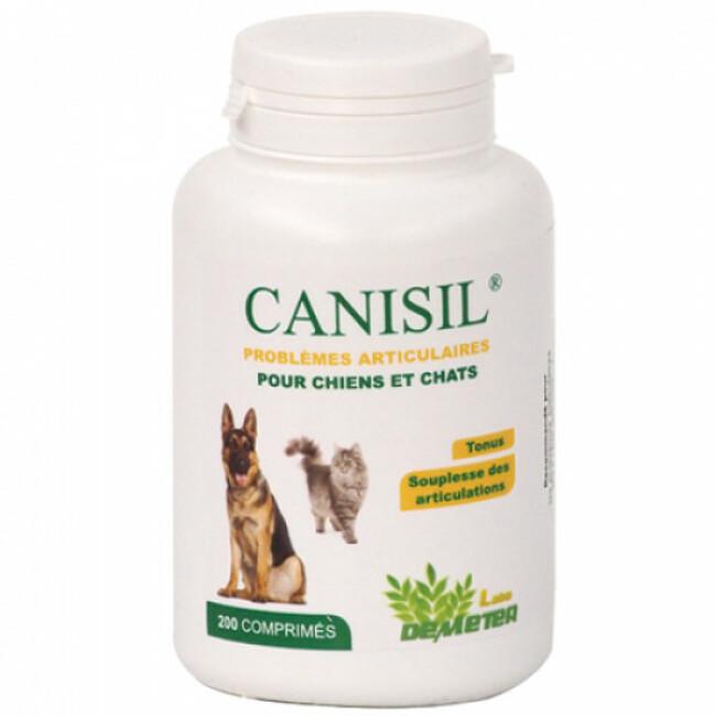 Complément alimentaire problèmes articulaires pour chien ou chat Canisil