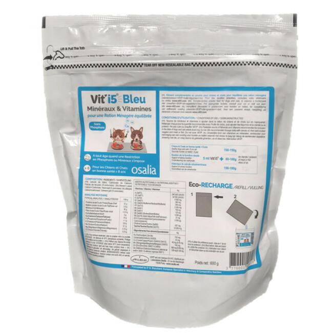 Complément alimentaire VIT'I5 Bleu pour chien et chat senior