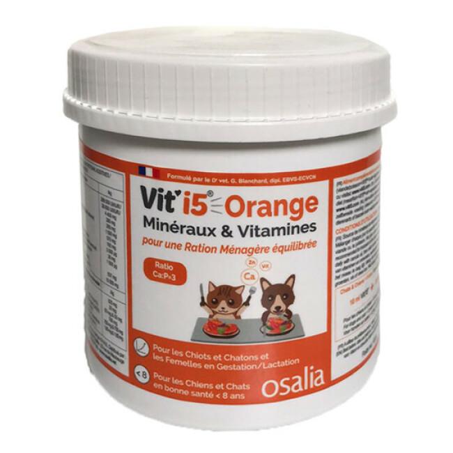 Complément alimentaire VIT'I5 Orange pour chien et chat adulte