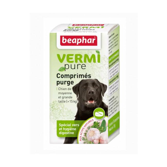 Comprimés de purge aux plantes Vermipure 50 comprimés