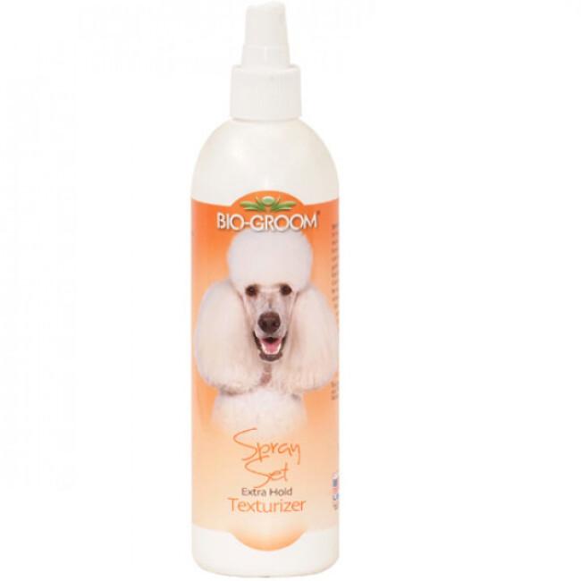 Conditionneur texturisant spray set pelage pour chien et chat