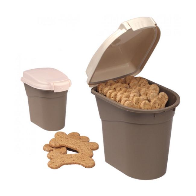 Container garni de 48 biscuits pour chien