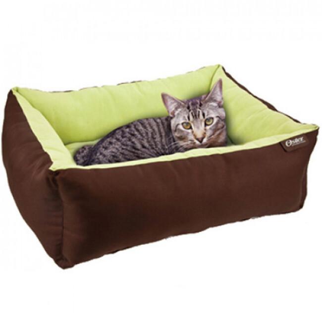 Corbeille à coussin auto chauffant pour petit chien et chat