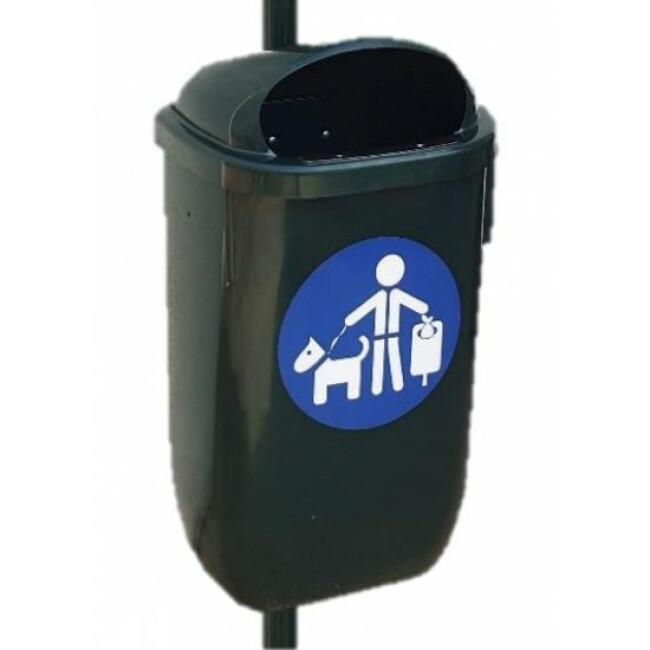 Corbeille en polyéthylène - 50 litres