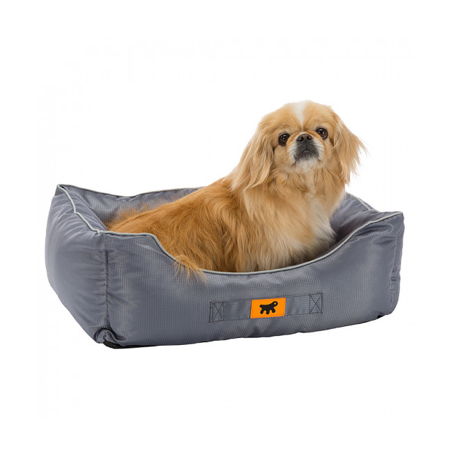 Corbeille grise pour chien Jazzy Ferplast