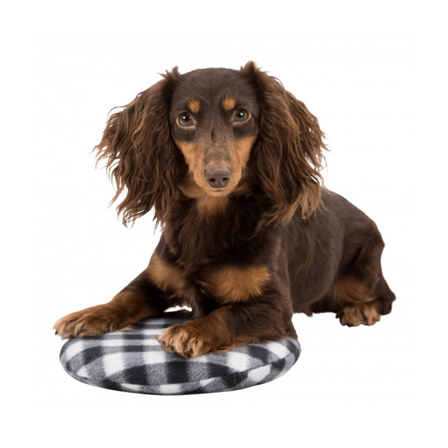 Coussin chauffant pour chien et chat à réchauffer au micro-ondes