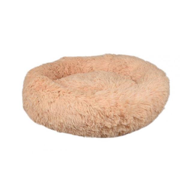 Coussin pour chien doux rond Krems Flamingo - Coloris Crème