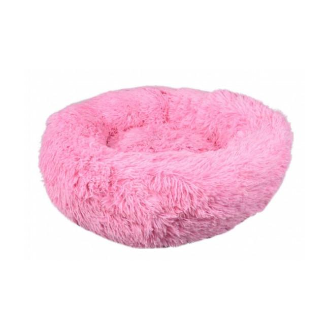 Coussin pour chien doux rond Krems Flamingo - Coloris Rose