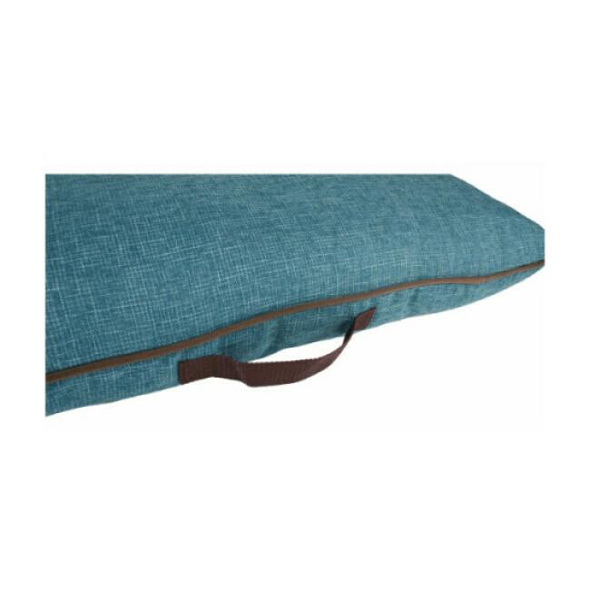 Coussin Snoozebay Flamingo Rectangle coloris bleu/brun