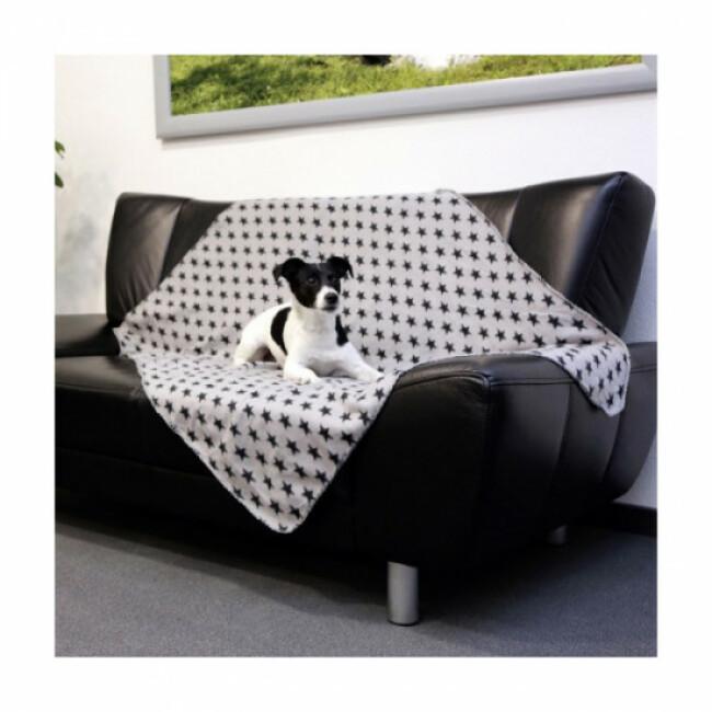 Couverture polaire Stella pour chien ou chat Kerbl 140 cm x 100 cm
