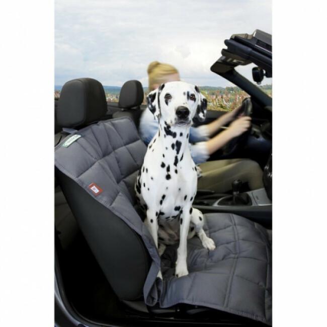 Couverture pour chien protection siège passager Doctor Bark grise