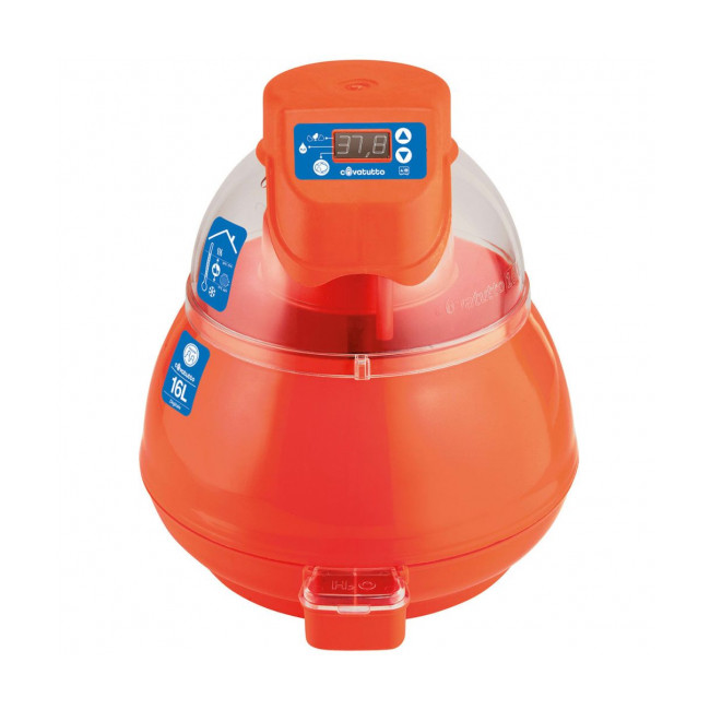 Couveuse digitale pour œufs de poule 16 litres Covatutto