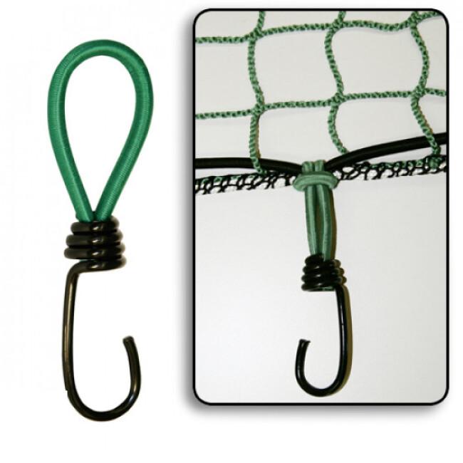 Crochets élastiques pour filet ou bâche pour chien et chat - lot de 6