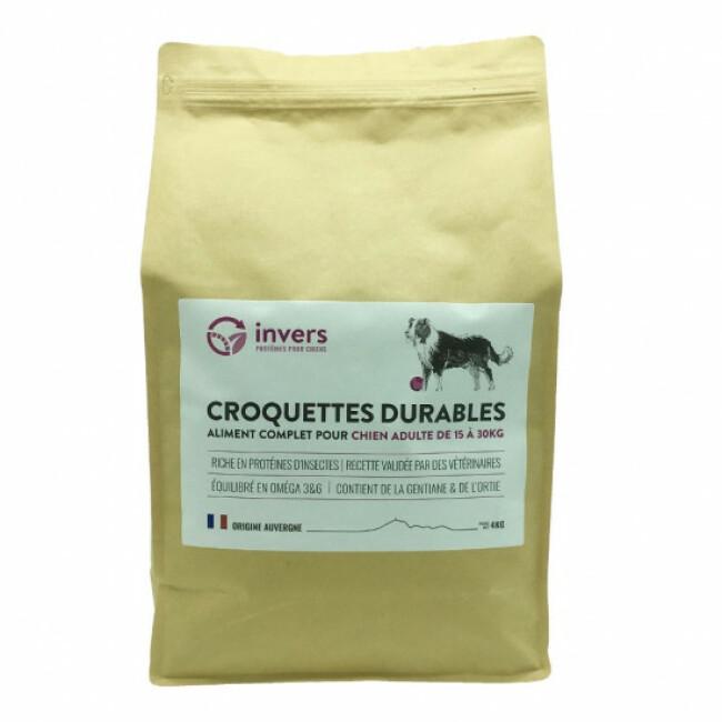 Croquettes aux protéines d'insectes pour chiens de moyenne race (15 kg à 30 kg)