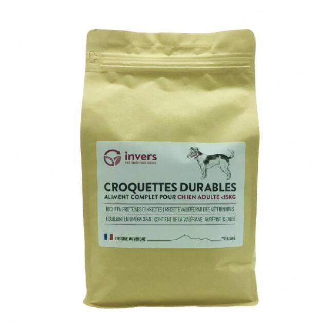 Croquettes aux protéines d'insectes pour chiens de petite race (<15kg)