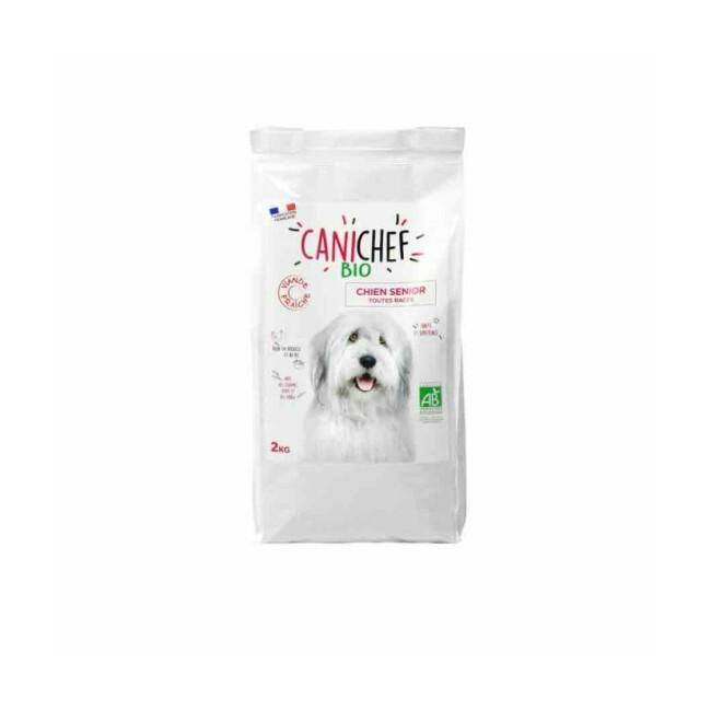 Croquettes Canichef Bio pour chien senior