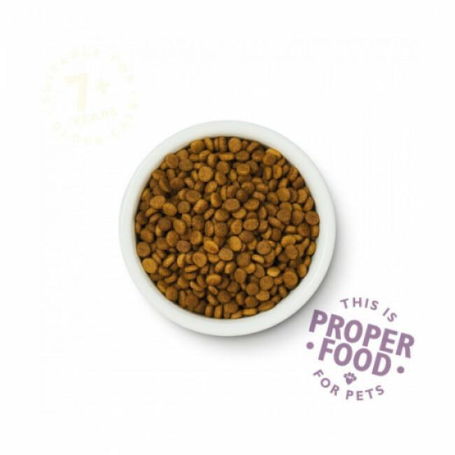 Croquettes Lily's Kitchen sans céréales au poisson pour chat senior