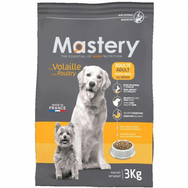Croquettes Mastery pour chien adulte saveur volaille