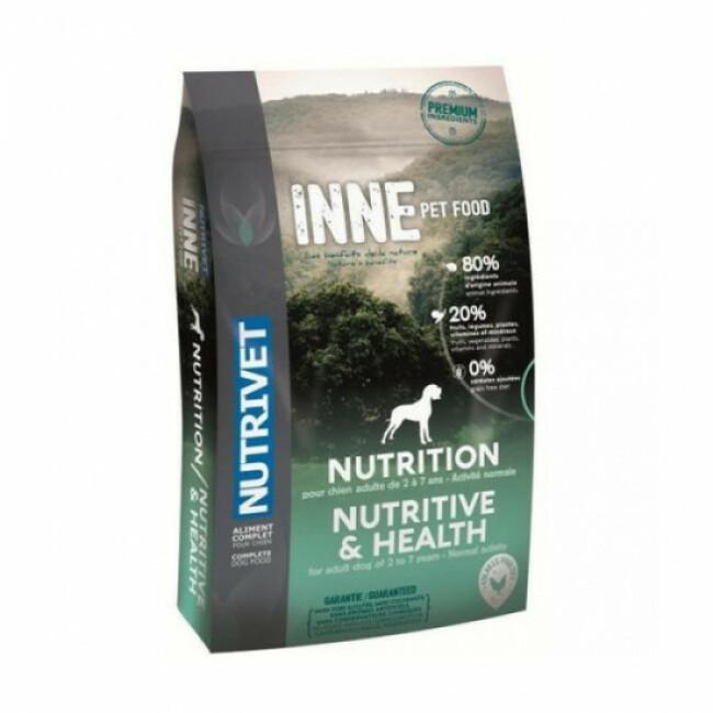 Croquettes Nutrivet Inne Dog Nutrition pour chien adulte