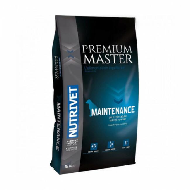 Croquettes Nutrivet Master Premium Maintenance pour chien