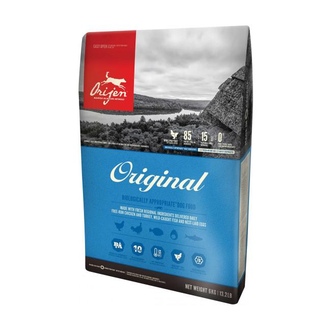Croquettes Orijen Original pour chien - Lot de 2 Sacs 11,4 kg
