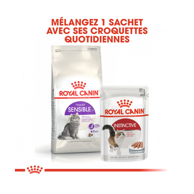 Croquettes pour chat adulte Royal Canin digestion sensible 33
