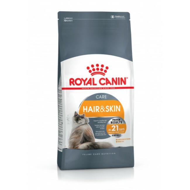 Croquettes pour chat adulte Royal Canin Hair et Skin 33