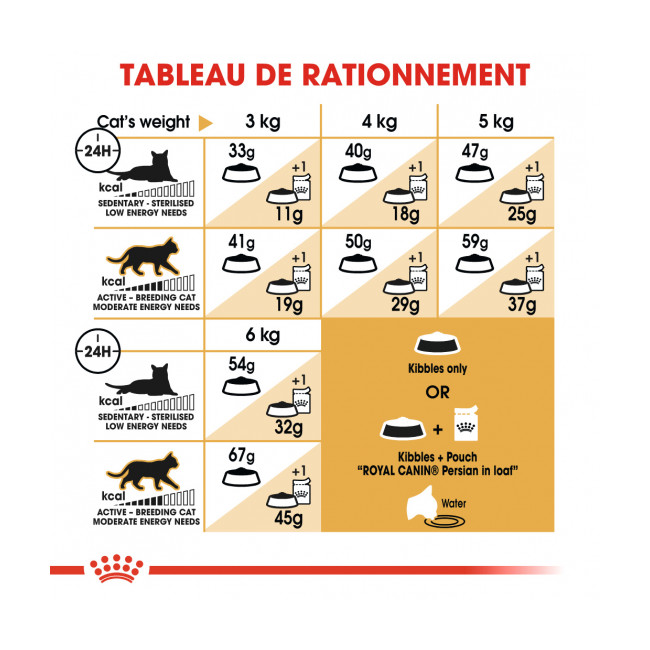 Croquettes pour chat adulte Royal Canin Persan 30