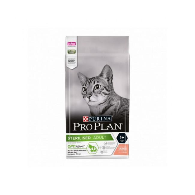 Croquettes pour chat adulte stérilisé Pro Plan saumon