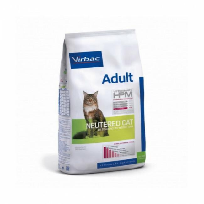 Croquettes pour chat adulte stérilisé Virbac HPM
